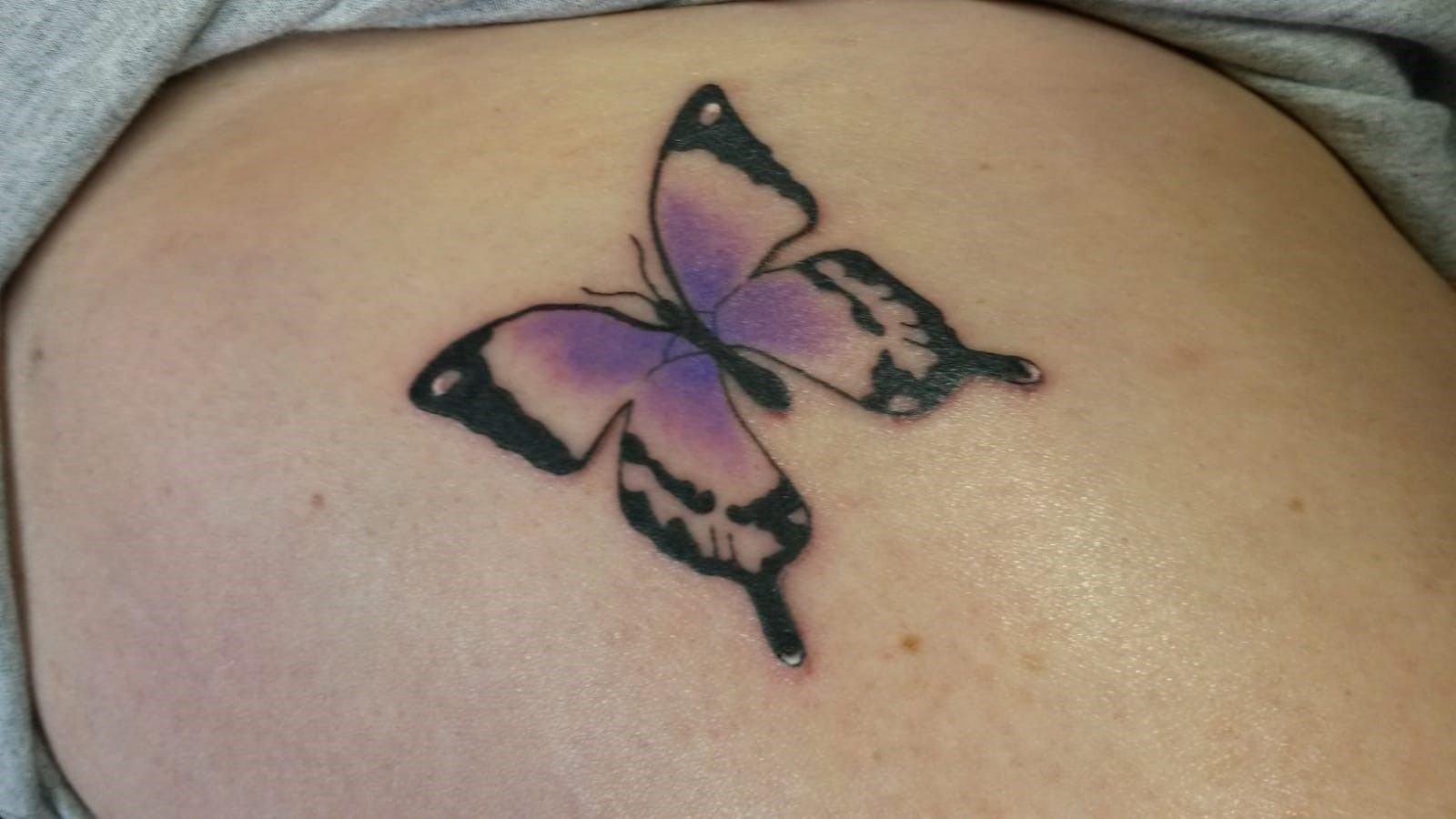 View Butterfly Tattoo by Nathan Green