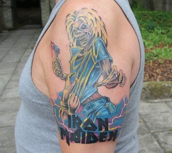 View Iron Maiden Eddie by Ryan West