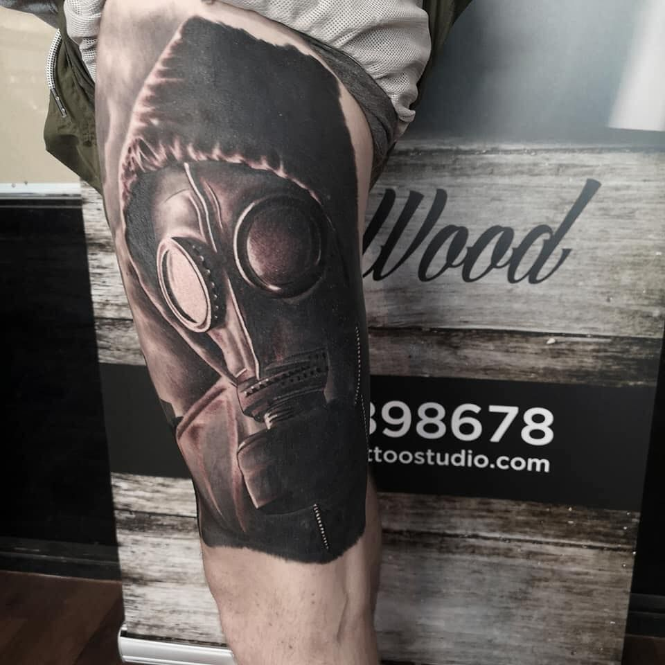 View Gas Mask by Tom Wood